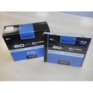 DVD BLU-RAY 25GB INTENSO JC 4X