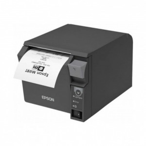 Impresora Ticket EPSON TMT70II TERMICA SERIE Negra