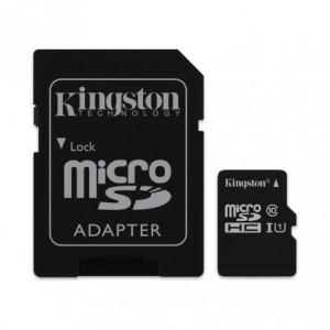 Memoria MicroSD 16Gb Kingston Clase 10