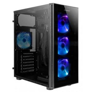 CAJA GAMING ANTEC NX210 ATX 2XUSB2.0 1XUSB3.0 SIN FUENTE NEGRO RGB