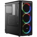 Caja Gaming Semitorre Aerocool SI5200 RGB