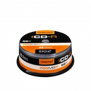Pack 25 cd´s Intenso
